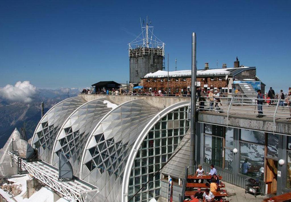 Deutschlands höchste BACnet-Anlage Zugspitze